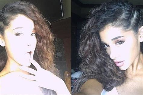 is ariana grande s hair real curly ariana grande singer revealed her real hair