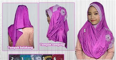 Jilbab Instan Pendek Baju Gamis Berbahan Denim Gamis Murni