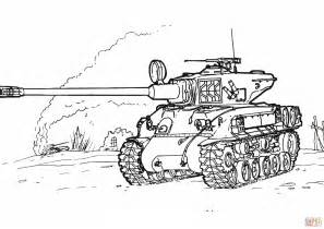 tank coloring pages sherman m 51 tank coloring page free printable coloring