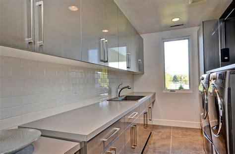 Houzz Kitchen Tile Backsplash ikea high gloss cabinets kitchen contemporary with range
