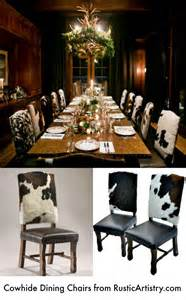 Western Dining Room Sets 17 Best Images About Rustic Cow Hide Decor On Western Furniture Rustic