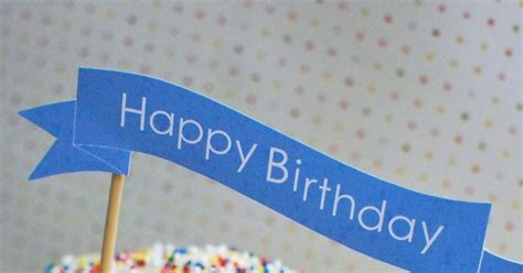 printable happy birthday banner blue anna and blue paperie free printable happy birthday