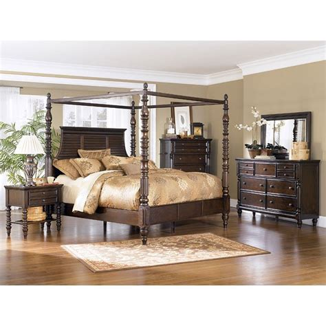 Furniture Millennium Bedroom by Key Town Canopy Bedroom Set Millennium Furniturepick
