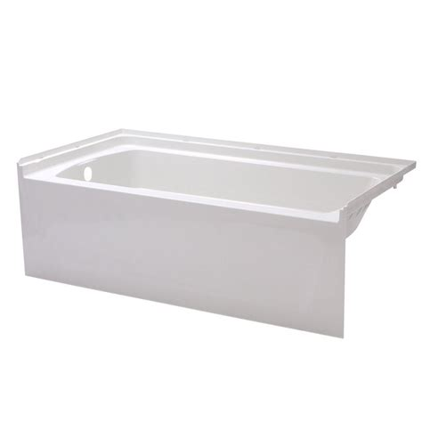 sterling bathtubs sterling lawson 5 ft reversible drain decked drop in