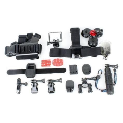Tmc Set For Gopro 3 Tas Kamera tmc 15 in 1 accessories set for gopro 3 3 4 ebl009 black jakartanotebook