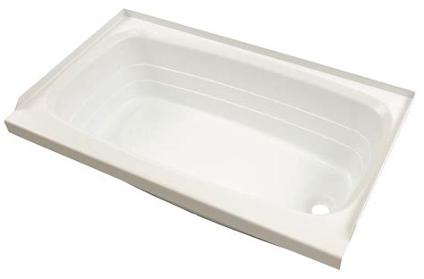 bathtub for rv better bath 24 quot x 40 quot rv bath tub right drain white