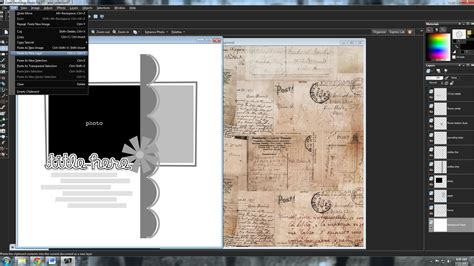 create receipt template corel paintshop tutorials by sweet shoppe designs 187 using templates in