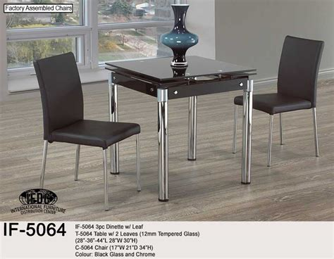 Dining If 5064 3pc Kitchener Waterloo Funiture Store Furniture Stores Waterloo Kitchener