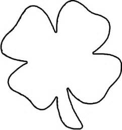 four leaf clover template math coloring sheets colouring page file
