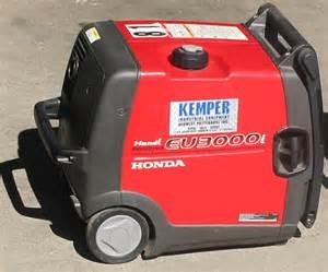 Honda 3000i Generator Honda Power Generator Kemper