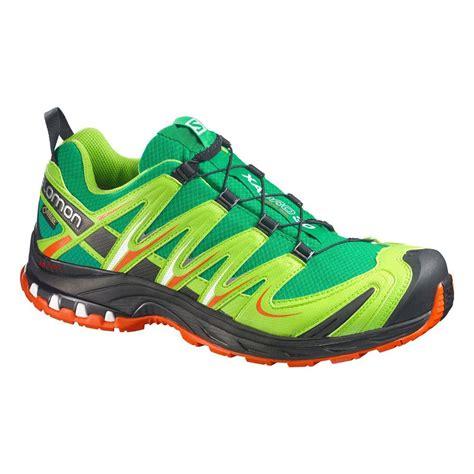 salomon xa pro 3d ultra 2 gtx verte chaussures trail