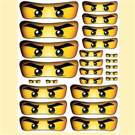 ninjago printable eyes instant download ninjago eyes 5 sizes for balloon by