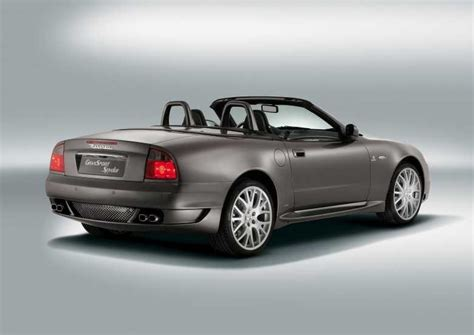 Maserati Spyder Review by Maserati Spyder Convertible Review 2002 2005 Parkers