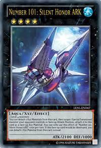 Yugioh Number 101 Silent Honor Ocg viz cards valiant monsters