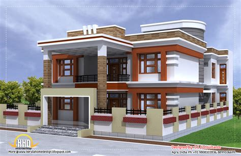 Beautiful Kerala Double Floor Plan 1871 Square Feet » Home Design 2017
