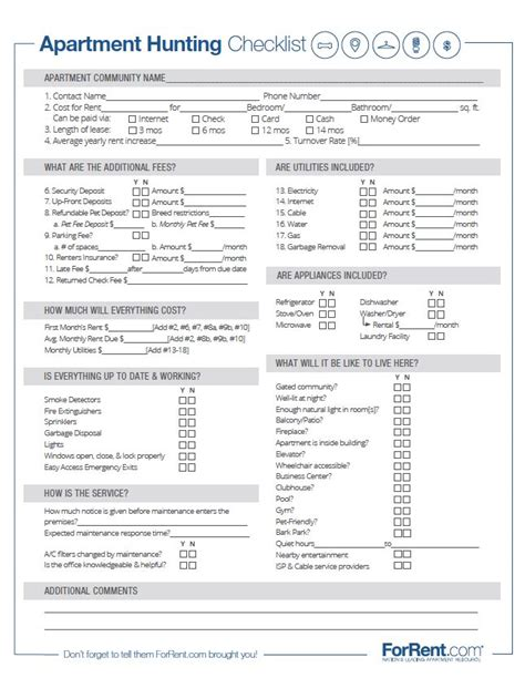 apartment walkthrough checklist template apartment walkthrough checklist template 28 images