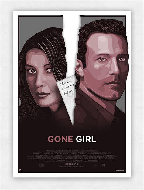 film gone girl adalah gone girl alternative movie poster on wacom gallery