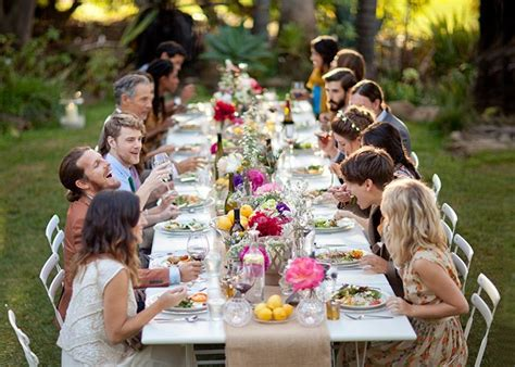 casual backyard wedding reception casual backyard wedding there s something so sweet and