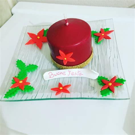 centrotavola candela centrotavola natalizio candela feste natale di