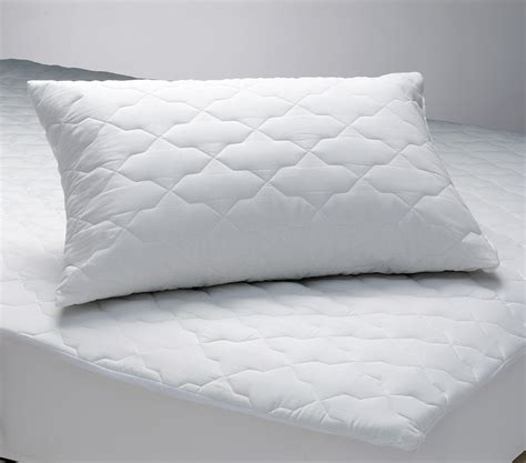 bed pillow protectors best price linen quilted polyester cotton mattress