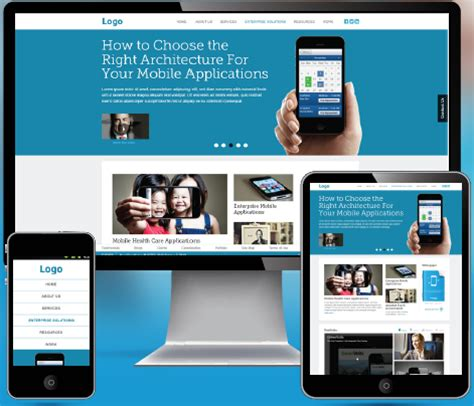 web app homepage design responsive web design vs mobile web app