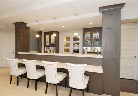 Luxurious Home Bar Design Ideas For A Modern Home Saloon Style House Plans