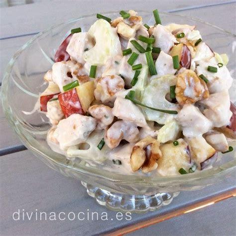 divina cocina recetas receta de ensaladilla de pollo varias ideas ensaladas