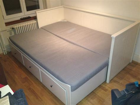 Two Single Mattresses On A Bed by Beds Search And On