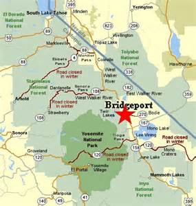 bridgeport california map bridgeport california places spaces i been