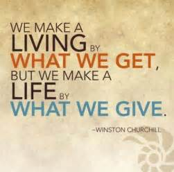 giving back | moveme quotes