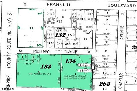 Atlantic County New Jersey Property Records 2 83 Acres Residential Land Atlantic County Nj Land And Farm