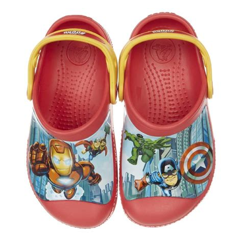 Crocs Clog New Avangers creative crocs marvel ii clogs td