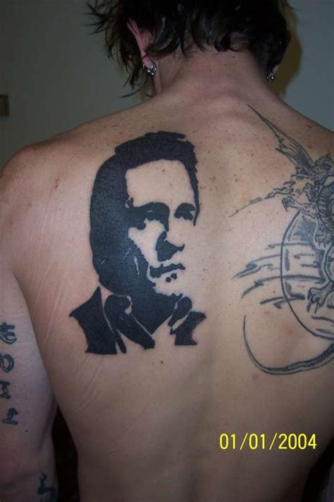 did johnny cash have tattoos johnny
