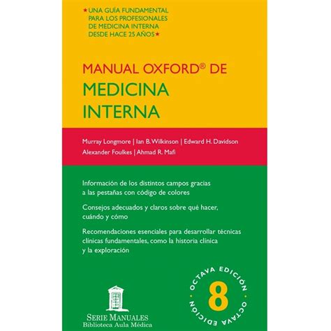 medicina interna manual oxford de medicina interna 8 ed