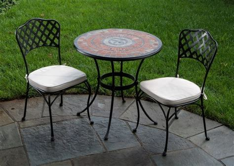 Patio Table And Chair Small Patio Tables And Two Chairs Outdoor Decorations