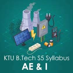Ktu Mba Syllabus by Ktu B Tech S5 Syllabus For Applied Electronics And