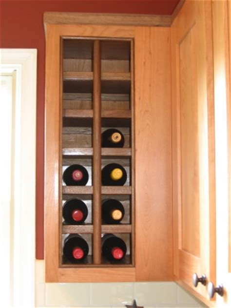 built in wine rack in kitchen cabinets pinterest the world s catalog of ideas