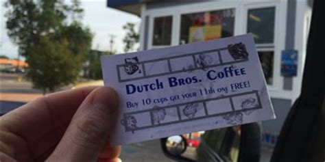 Where To Get A Dutch Bros Gift Card - 9 sts with large purchase at dutch bros on thursday