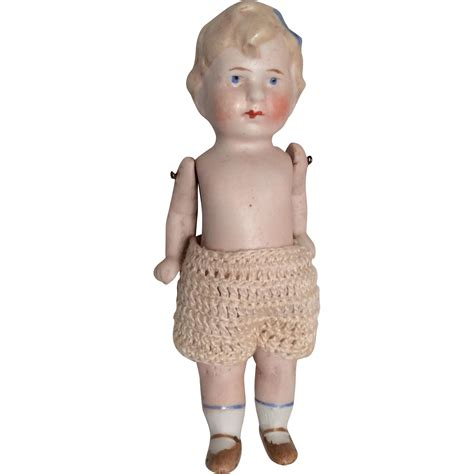 bisque boy doll german all bisque boy doll limbach from dollsandsmalls on