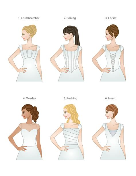Wedding Hairstyles For Different Dress Types by Bodice Types For Modest Wedding Dresses Lds Wedding Planner