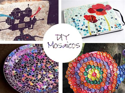 como decorar un espejo en forma de corazon manualidades hacer mosaicos materiales e ideas