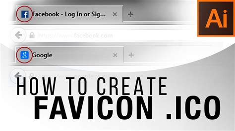 how to create a how to create a favicon ico illustrator tutorial youtube