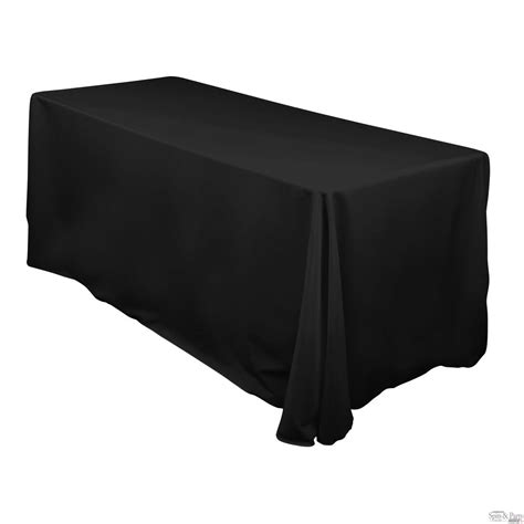 Black Linen Tablecloth | canberra spits party hire 6ft fitted tablecloth hire