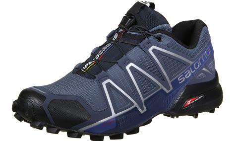 cheap salomon trail running shoes salomon speedcross 4 trail running shoes blue