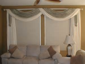 Window Treatments Swags - swags modern window treatments san diego by installations etc