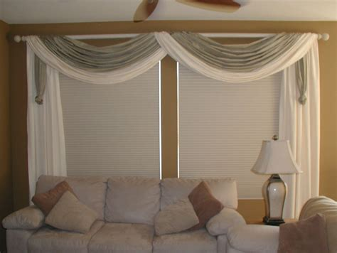 swags modern window treatments san diego by