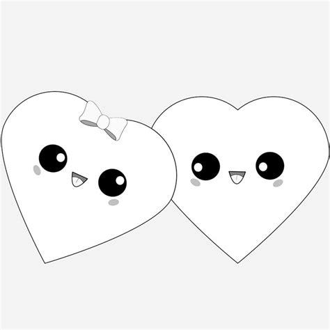 imagenes kawaii en blanco y negro las mejores im 193 genes kawaii de amor para descargar gratis