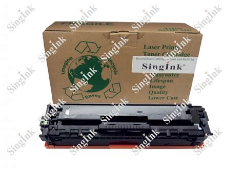 Toner Cartridge Remanufactured Cb540a Bk for hp cb540a 125a bk remanufacture cartridge singink