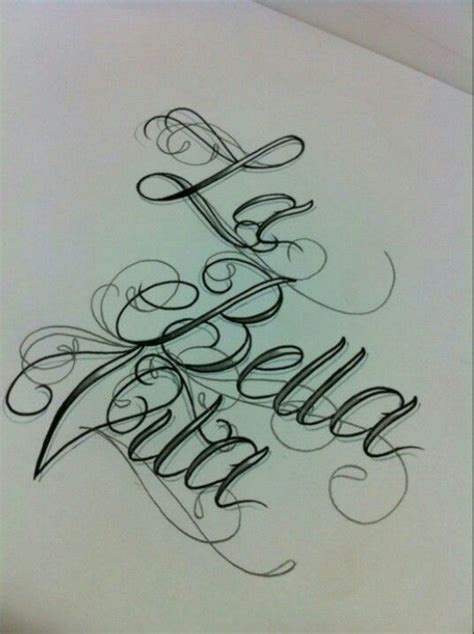 bella tattoo designs 24 best script images on calligraphy
