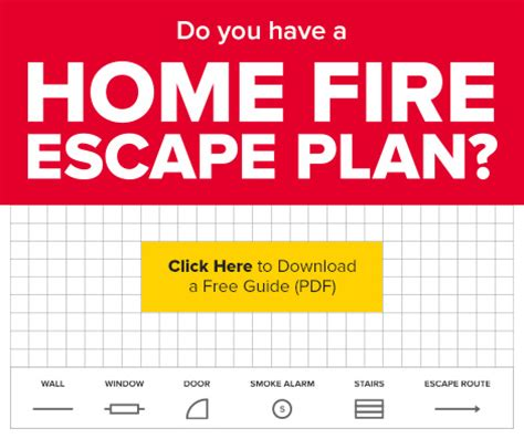 fire escape plans for home honey creek fire department